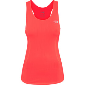 The North Face 24. Jul Top sin Mangas Mujer, fiery coral